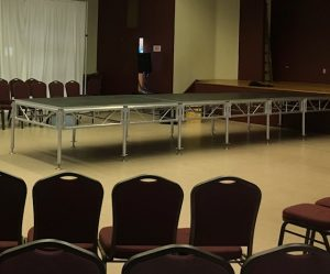 Stage rental New Haven CT