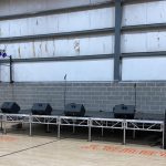Stage setup Fairfield CT